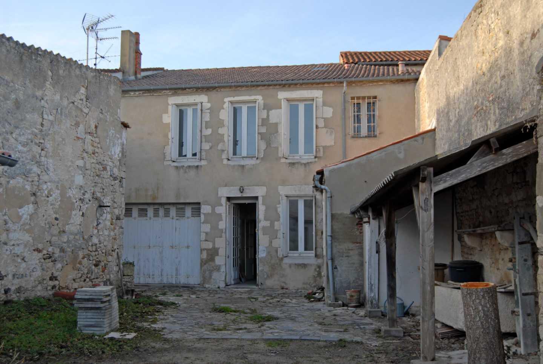 Maison de ville avant travaux réalisés par Frédérique Bargeas